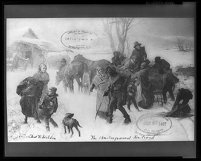 Artwork of The Underground Railroad