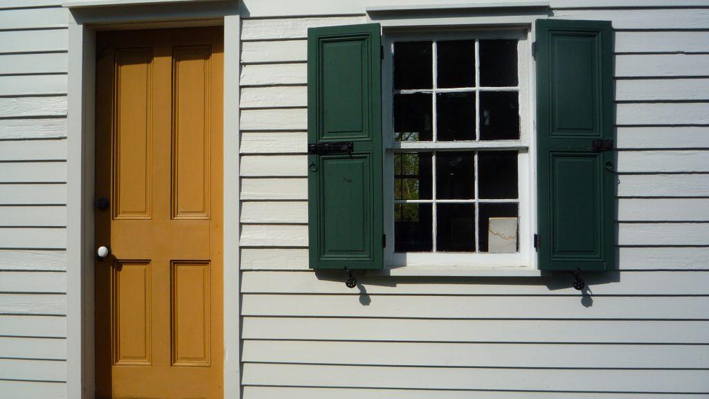 Peter Mott House Doorway & Window