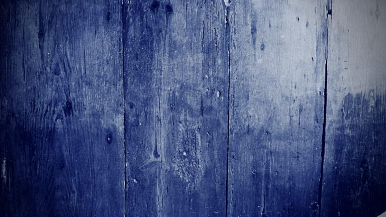 Wooden floorboards in the Peter Mott House