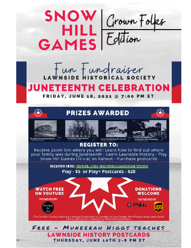 Juneteenth Playing Snow Hill Games