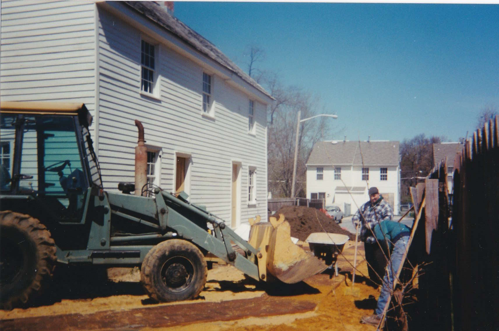 Construction Crew at Mott House