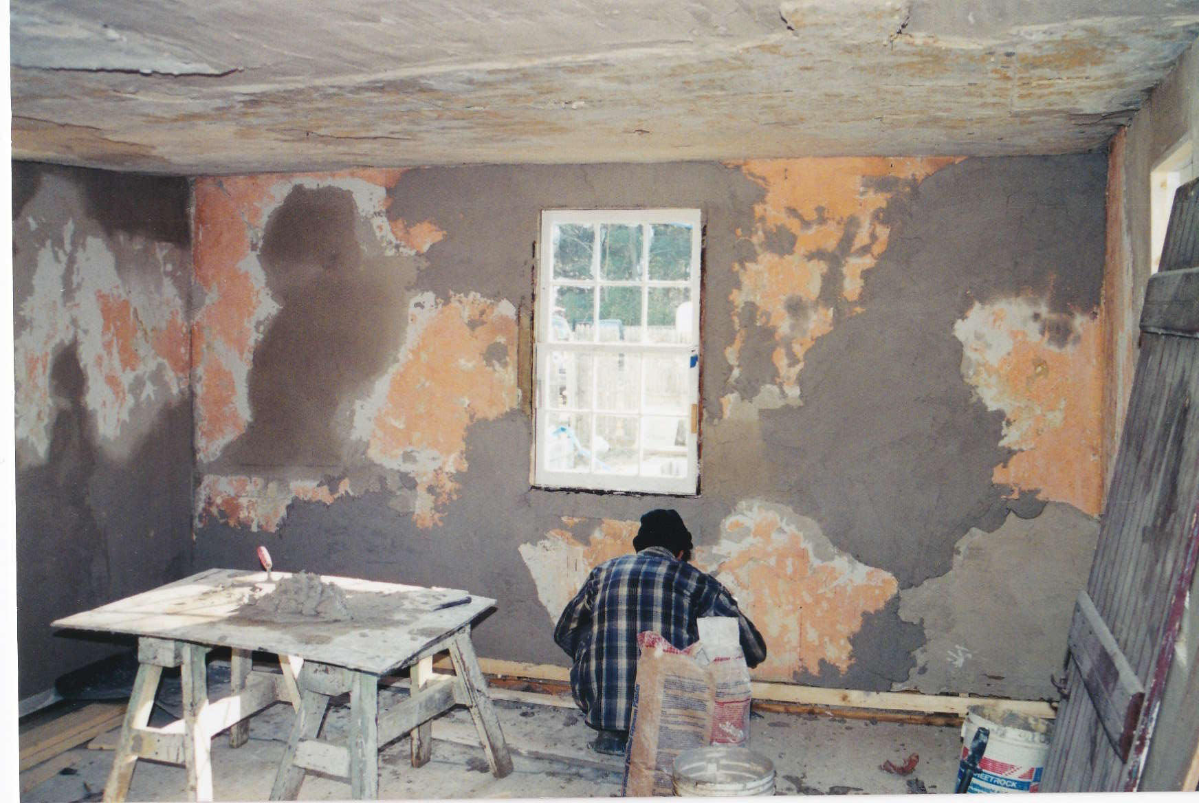 Replastering the Kitchen